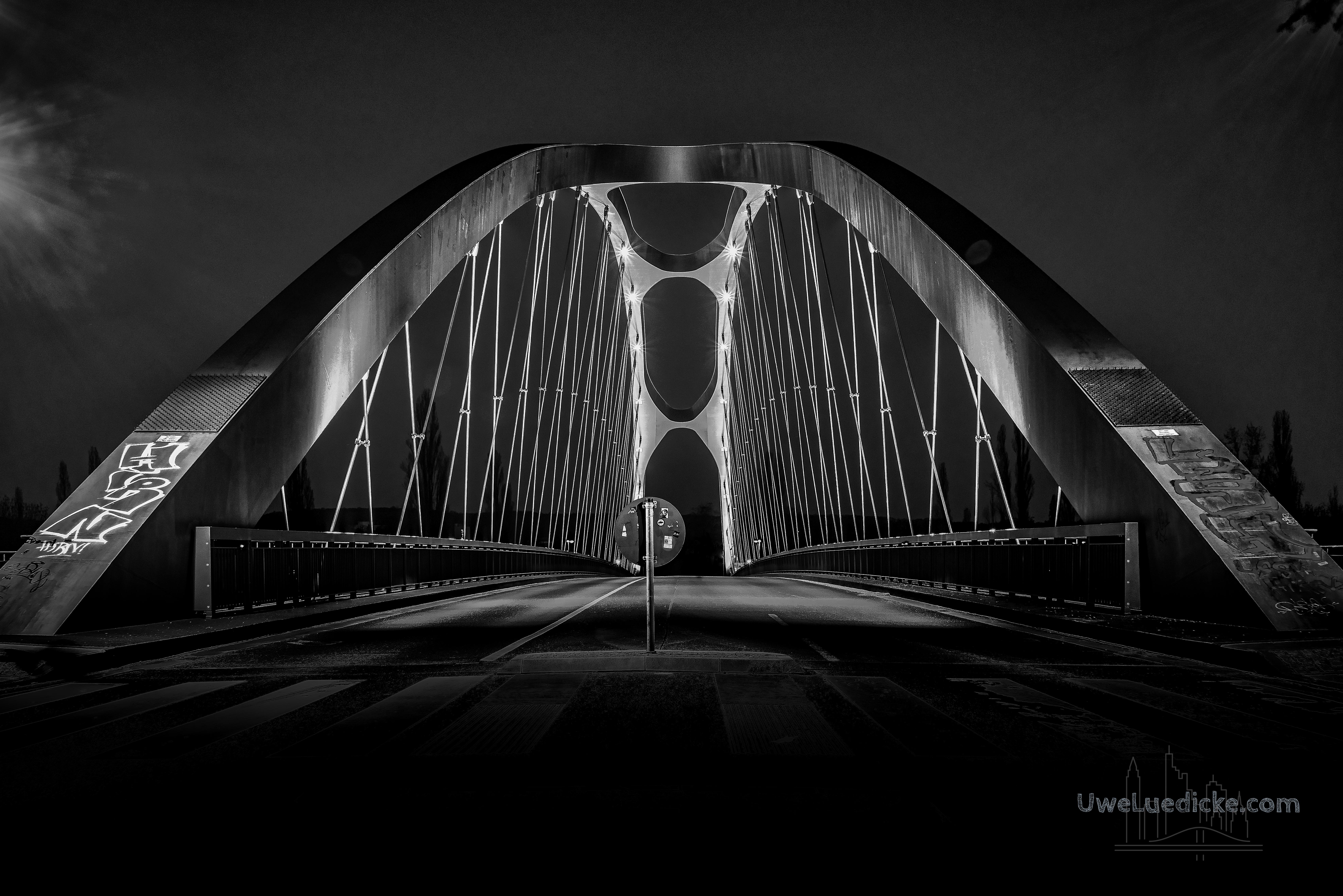 Osthafenbrücke Frankfurt am Main